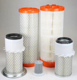 Luftfilter, Haupt- bzw. Primärelement und Außenfilter